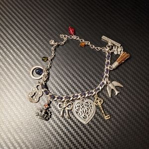 American Eagle Vintage charm bracelet
